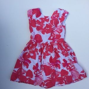 Gymboree Girls cute flower print dress